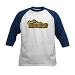 That's What She Said Kids Baseball Jersey
