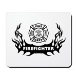 Fire Dept Tattoos Mousepad