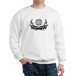 Fire Dept Tattoos Sweatshirt