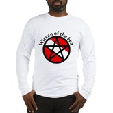 Wiccan of the Sea Long Sleeve T-Shirt