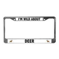 Deer License Plate Frames