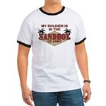 Soldier Sandbox US Army Miltary Ringer T