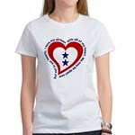 2 Star Service Flag - Airmen Women's T-Shirt