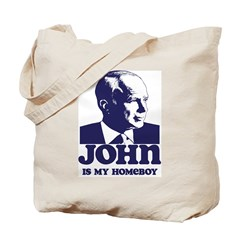 John is My Homeboy Tote Bag