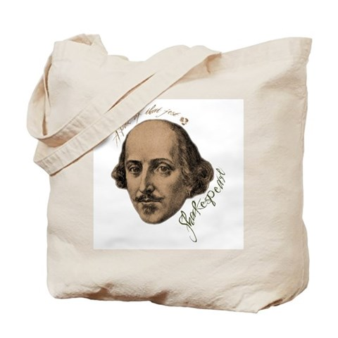 Shakespeare Insults Tote Bag