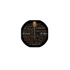 Shakespeare Insults T-shirts & Gifts Mini Button