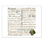 Shakespeare Insults T-shirts & Gifts Small Poster