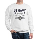 NAVY Son-in-law freedom Sweatshirt
