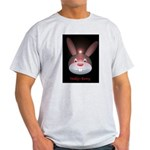 The Dark Bunny Ash-Gray Teeshirt