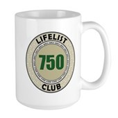 Lifelist Club - 750 Large Mug