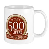 Lifelist Club - 500 Mug