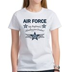 Air Force Boyfriend freedom Women's T-Shirt