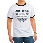Air Force Wife defending Ringer T