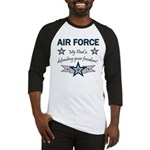 Air Force Dad defending Baseball Jersey