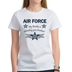 Air Force Brother defending Women's T-Shirt