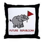 Future Republican Throw Pillow