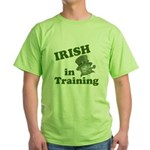 Irish in Training Green T-Shirt