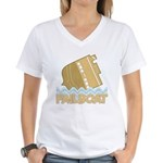 Fail Boat Women's V-Neck T-Shirt