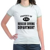 Rescue Diving Department Jr. Ringer T-Shirt