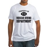 Rescue Diving Department Fitted T-Shirt