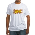 Fitted T-Shirt : Sizes S,M,L,XL,2XL