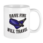 Have Fins Will Travel Mug
