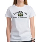 Land of the Free, Seabee Women's T-Shirt