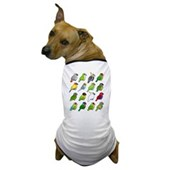 16 Birdorable Parrots Dog T-Shirt