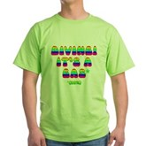 Diving It's a Gas Green T-Shirt