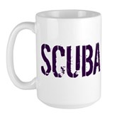 Scuba Freak Large Mug
