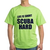 Scuba Hard Green T-Shirt