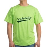 Scubaholic Green T-Shirt