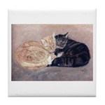 Cuddly Cats Tile Coaster