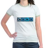 Obama Elements Jr. Ringer T-Shirt