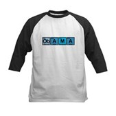 Obama Elements Kids Baseball Jersey
