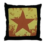 Rusty Star Throw Pillow