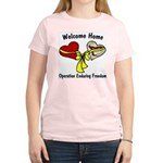 OEF Welcome Home Women's Pink T-Shirt
