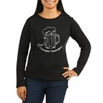 Beer: Now! Cheaper than Gas! Women's Long Sleeve D
