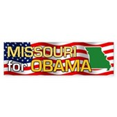 Missouri for Obama Bumper Sticker