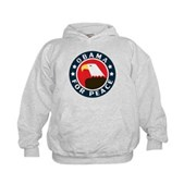 Obama For Peace Kids Hoodie