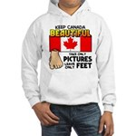 Canada Severed Foot Hooded Sweatshirt