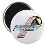 Logan Wagner CDH Awareness Ribbon Magnet