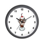 Ice Cream Sundae Wall Clock