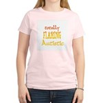 Totally Flaming Autistic Women's Light T-Shirt