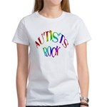 Autists Rock Women's T-Shirt