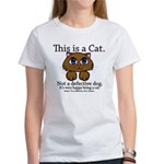 This is a Cat Women's T-Shirt