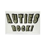 Auties Rock! Rectangle Magnet