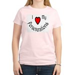 I Heart My Perseverations Women's Light T-Shirt