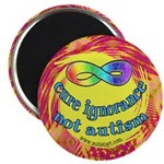 "Cure Ignorance 2.25"" Magnet (100 pack)"