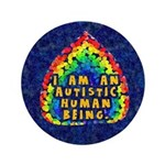I Am Human 3.5&quot; Button